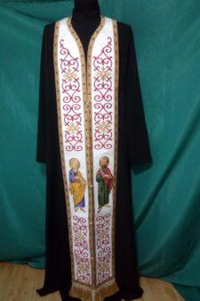 Epitrahil brodat Sf Apostoli