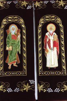 Prapor Sf Apostol Andrei Sf Nicolae