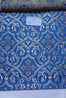 material grecia albastru