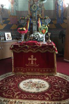 acoperaminte sf altar