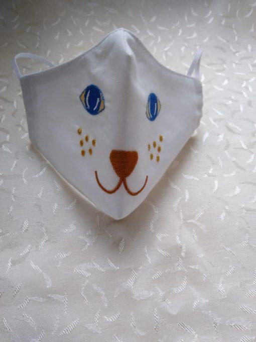 masca protectie bumbac brodata 09